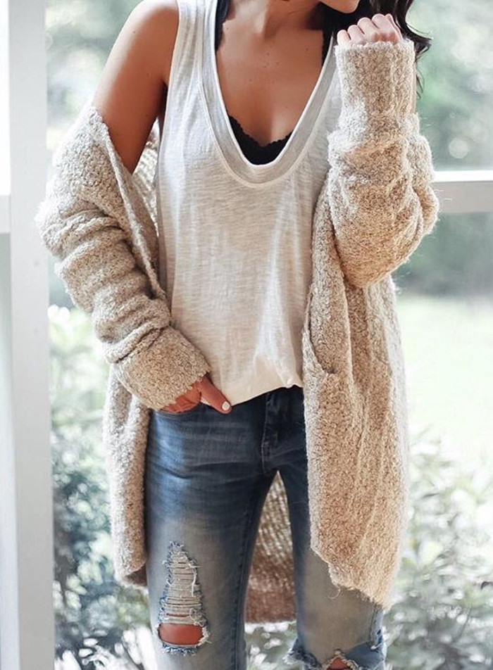 neutral shades outfit