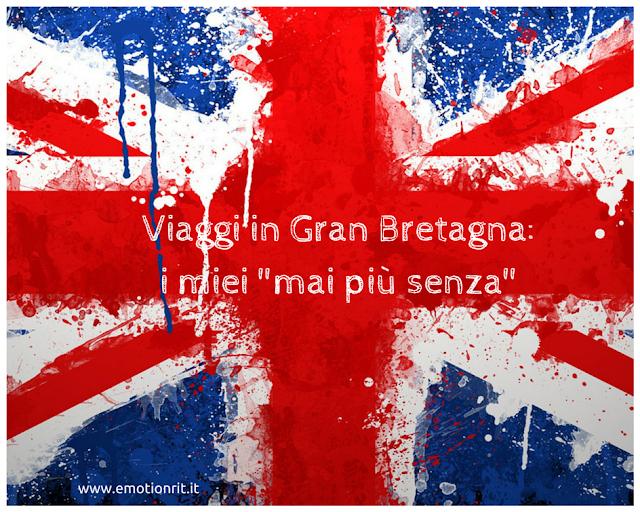 Cose utili da portare in Gran Bretagna