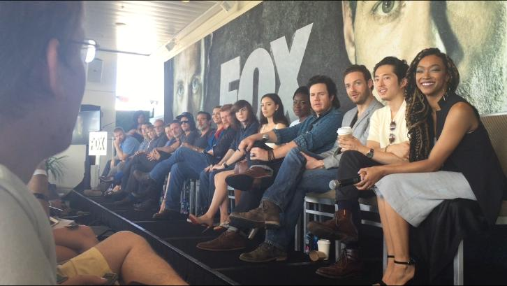 The Walking Dead - Comic Con Press Conference with SpoilerTV