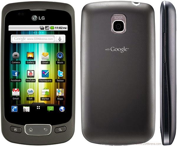 LG P500 Hard Reset