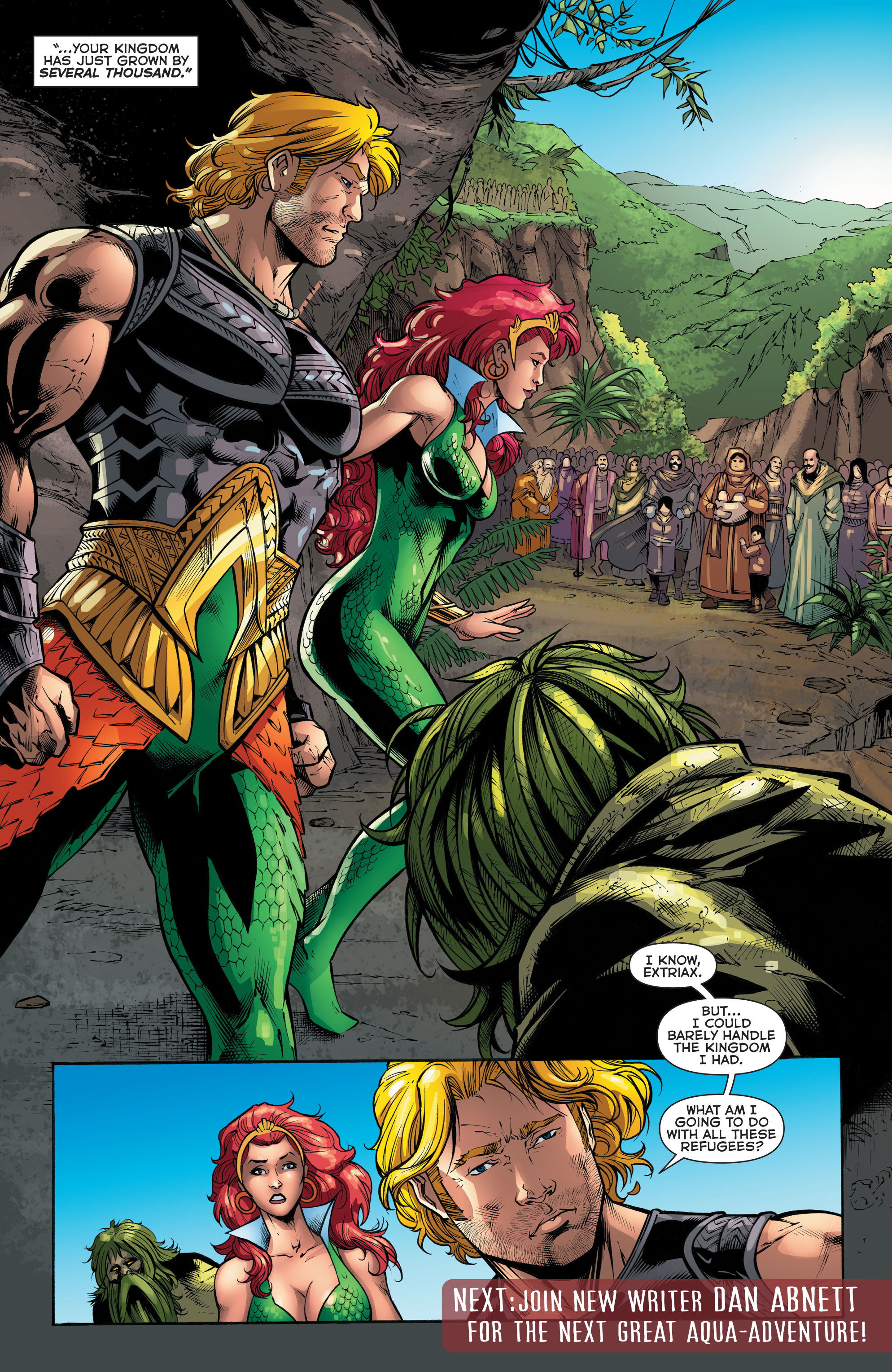 Read online Aquaman (2011) comic -  Issue #48 - 21