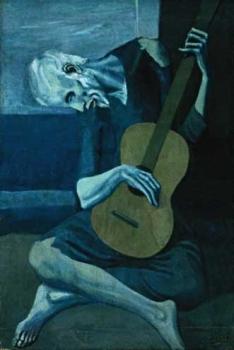 """Pintura """"El viejo guitarrista ciego"""" de Pablo Picasso"""