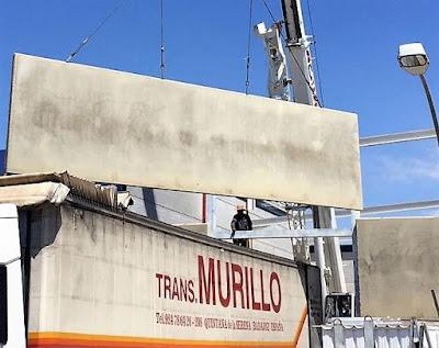 foto de panel macizo para nave en aranjuez