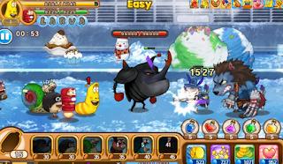 Larva Heroes Mod Apk Unlimited Money