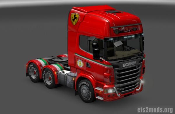 Skin Scania Scuderia Ferrari