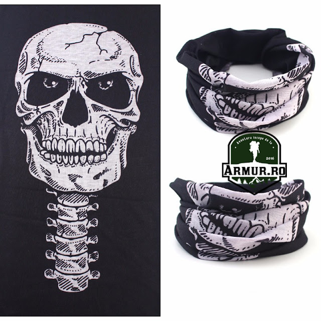bandana cagula rock punk gotic