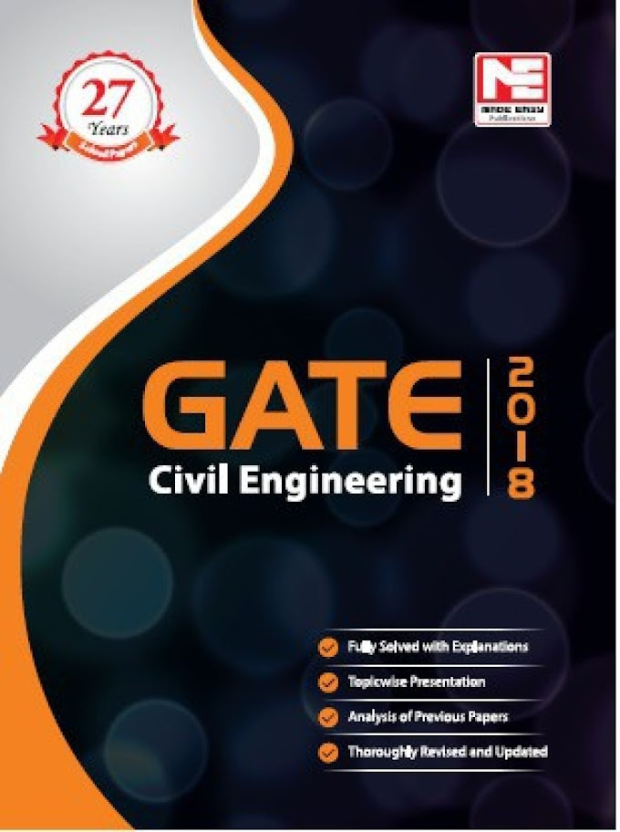 Download Made Easy GATE 2018 Civil Engineering Previous Year Solved Pdf
