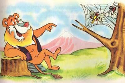 fabula corta el leon y el mosquito