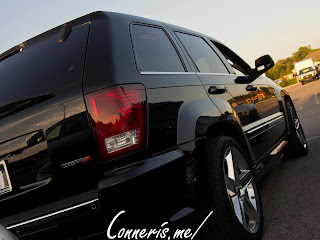 Jeep Grand Cherokee SRT8 Rear Angle