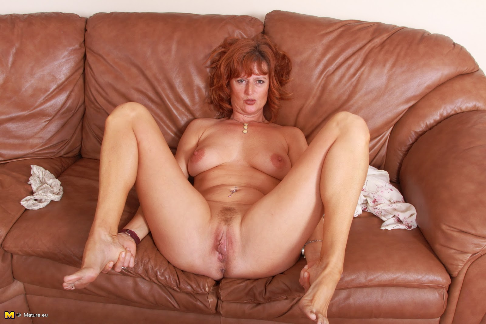 archive of old women: Mature Redhead