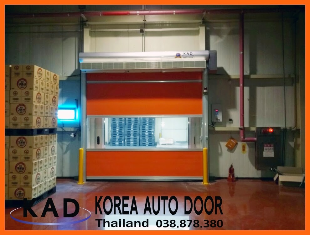 a picture of high speed door