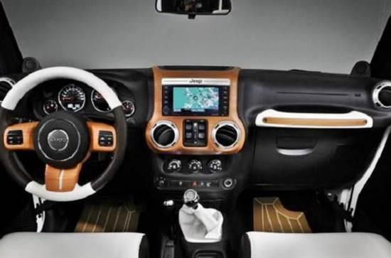 2018 Jeep Wrangler Interior Design