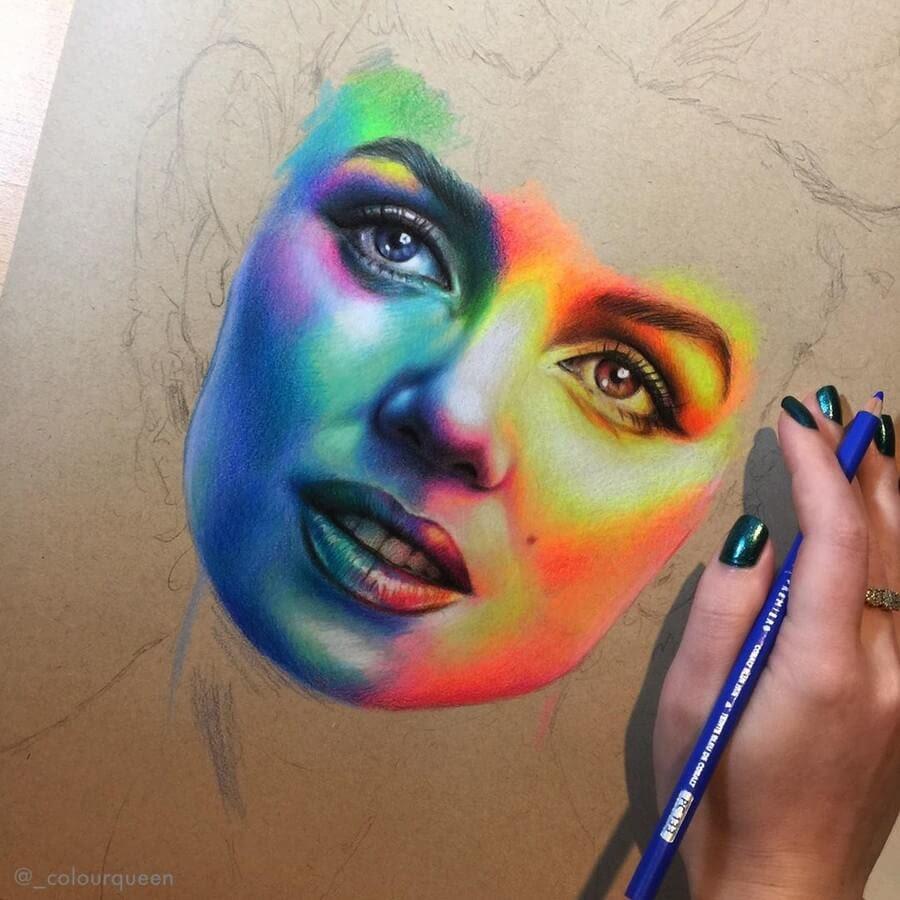 07-Portrait-3-Jenna-Very-Vivid-Colors-in-Varied-Drawings-www-designstack-co