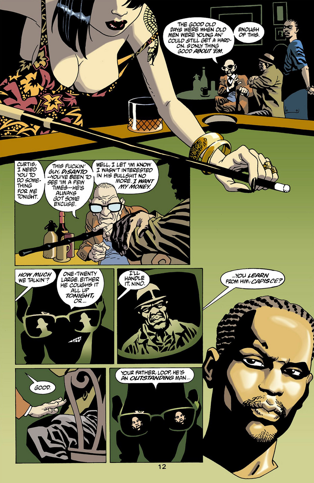 Read online 100 Bullets comic -  Issue #16 - 13