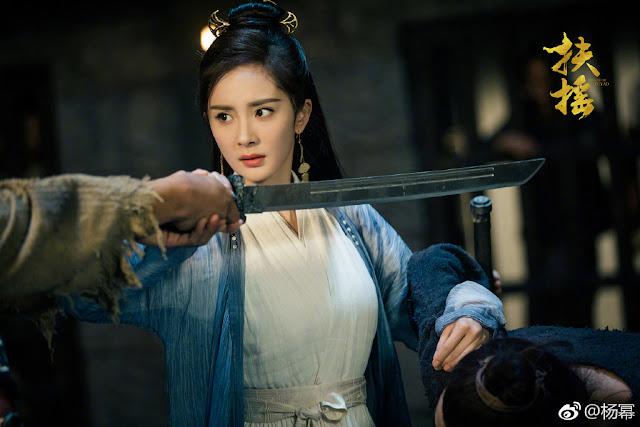 Yang Mi stills Legend of Fuyao