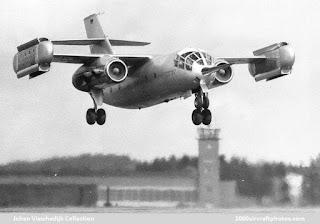 Pesawat Dornier DO-31 VTOL