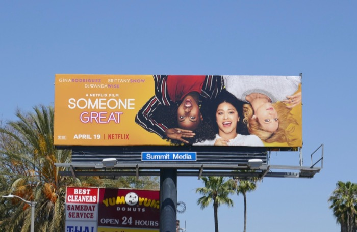 Someone Great movie billboard