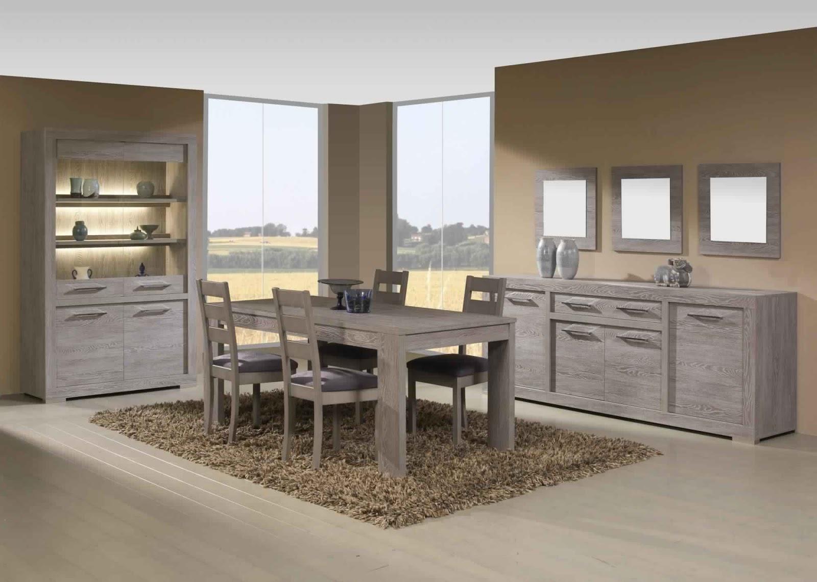 meuble salon salle a manger good salle a manger en pin blanc salle manger bois large choix de. Black Bedroom Furniture Sets. Home Design Ideas