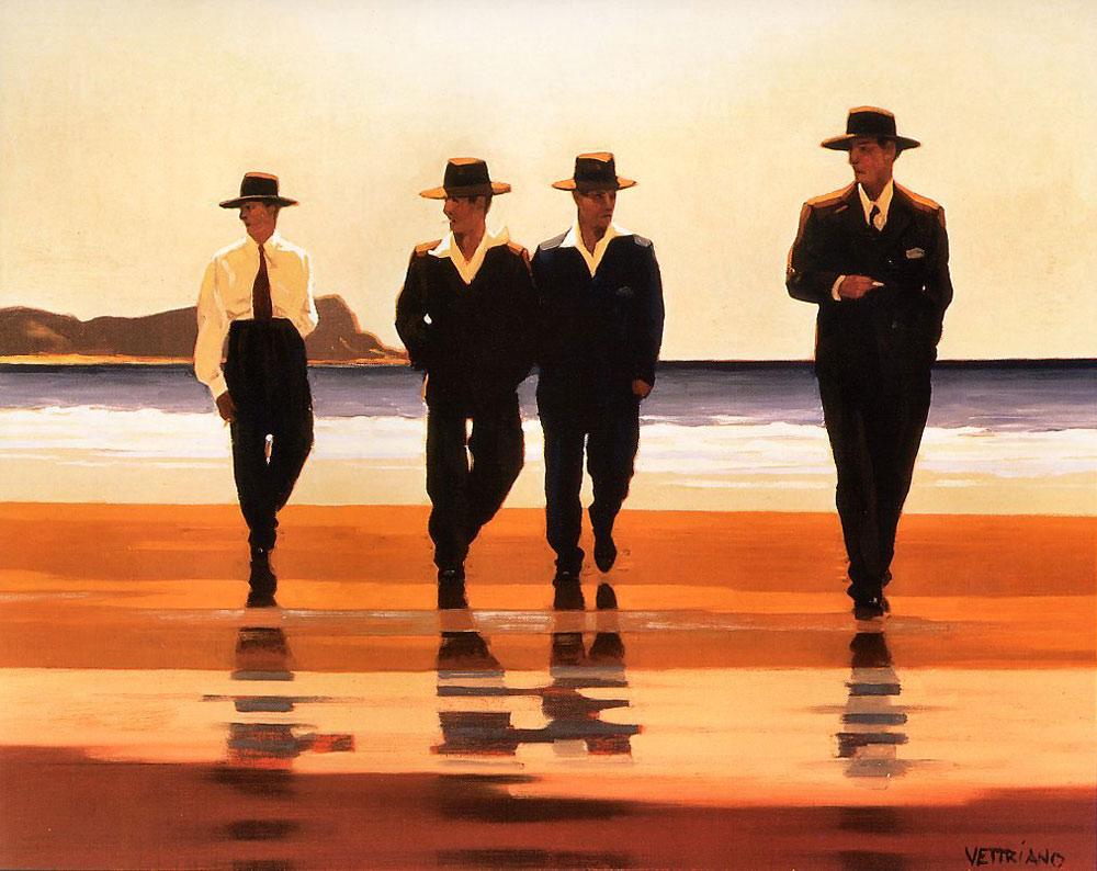 Jack  Vettriano  The   illy  boys
