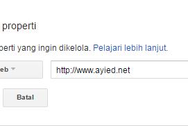 Cara Mudah Daftar Blog dan Submit Sitemap ke Google Webmaster