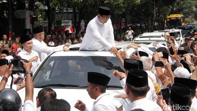 Anak Bung Karno, Soeharto dan SBY hadir di KPU, Prabowo merasa terhormat
