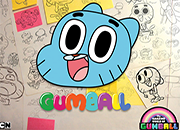 Gumball SketchBook Jigsaw