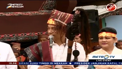 Jokowi Ke Pulau Samosir