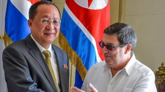 Cuba, en apoyo a Pyongyang, rechaza medidas 'arbitrarias' de EEUU