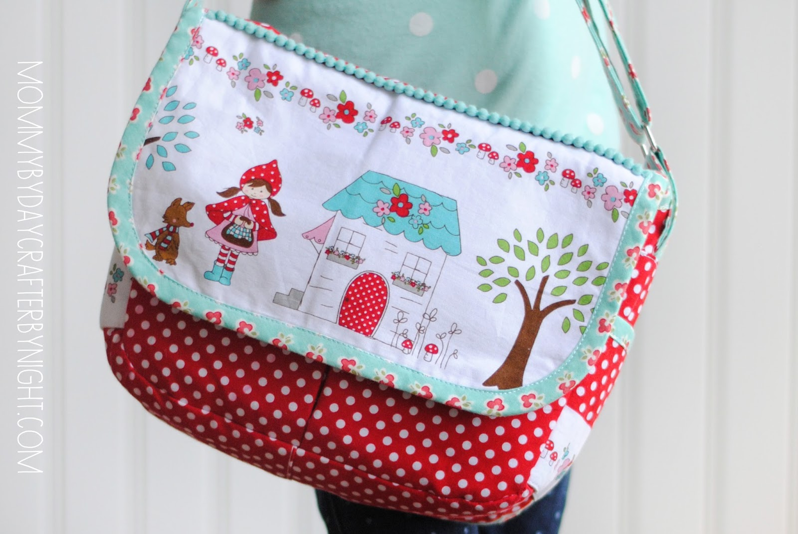 Mommy By Day Crafter By Night Little Red Riding Hood Bag