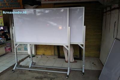 Jasa Pembuatan White Board, Papan Board atau Papan Tulis dengan Rangka Besi, Stainless maupun Aluminium di Jabodetabek