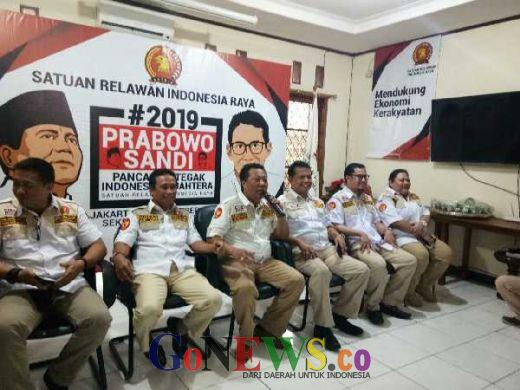 Satria Gerindra Deklarasikan #2019PrabowoSandi