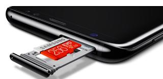 Samsung Galaxy S8 Memori