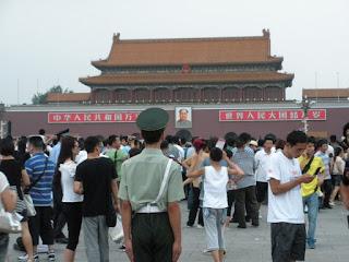 Pechino piazza tienammen