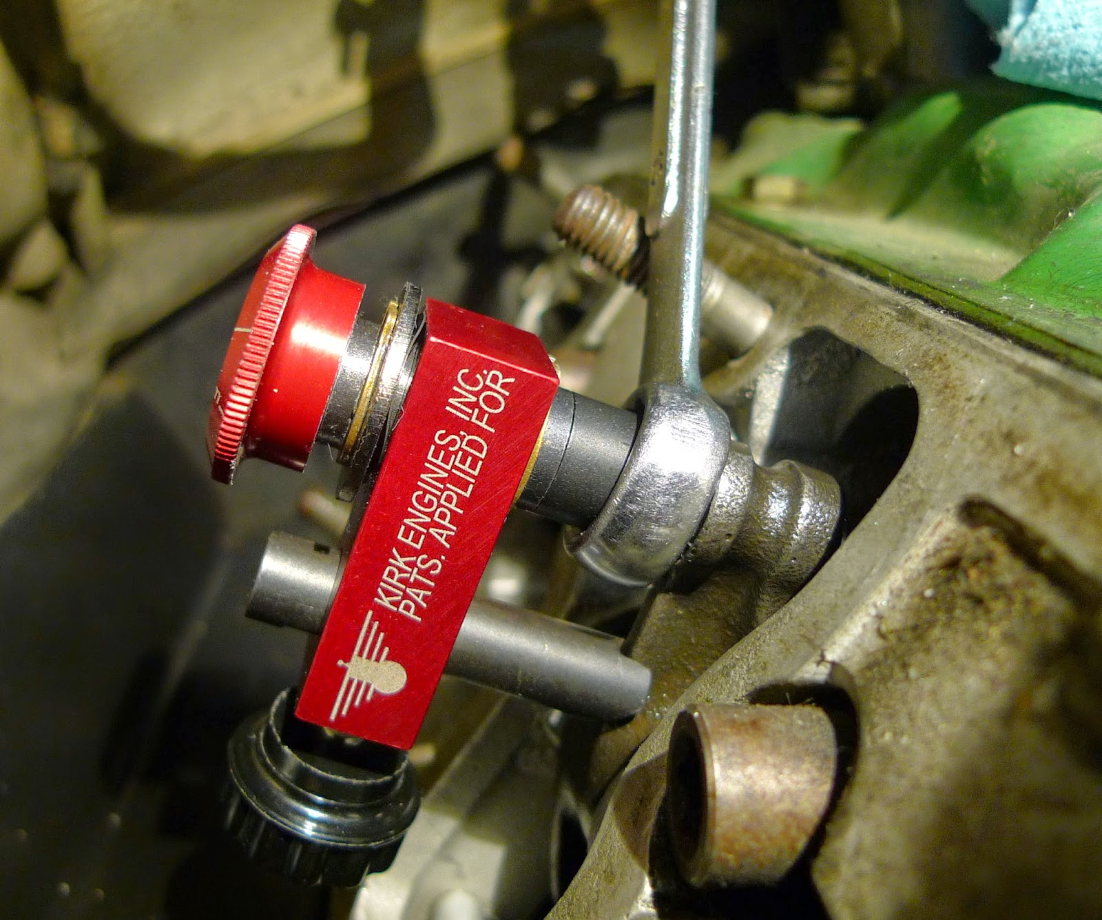 Pondering Porsche(s): The Kirk Valve Lash Tool