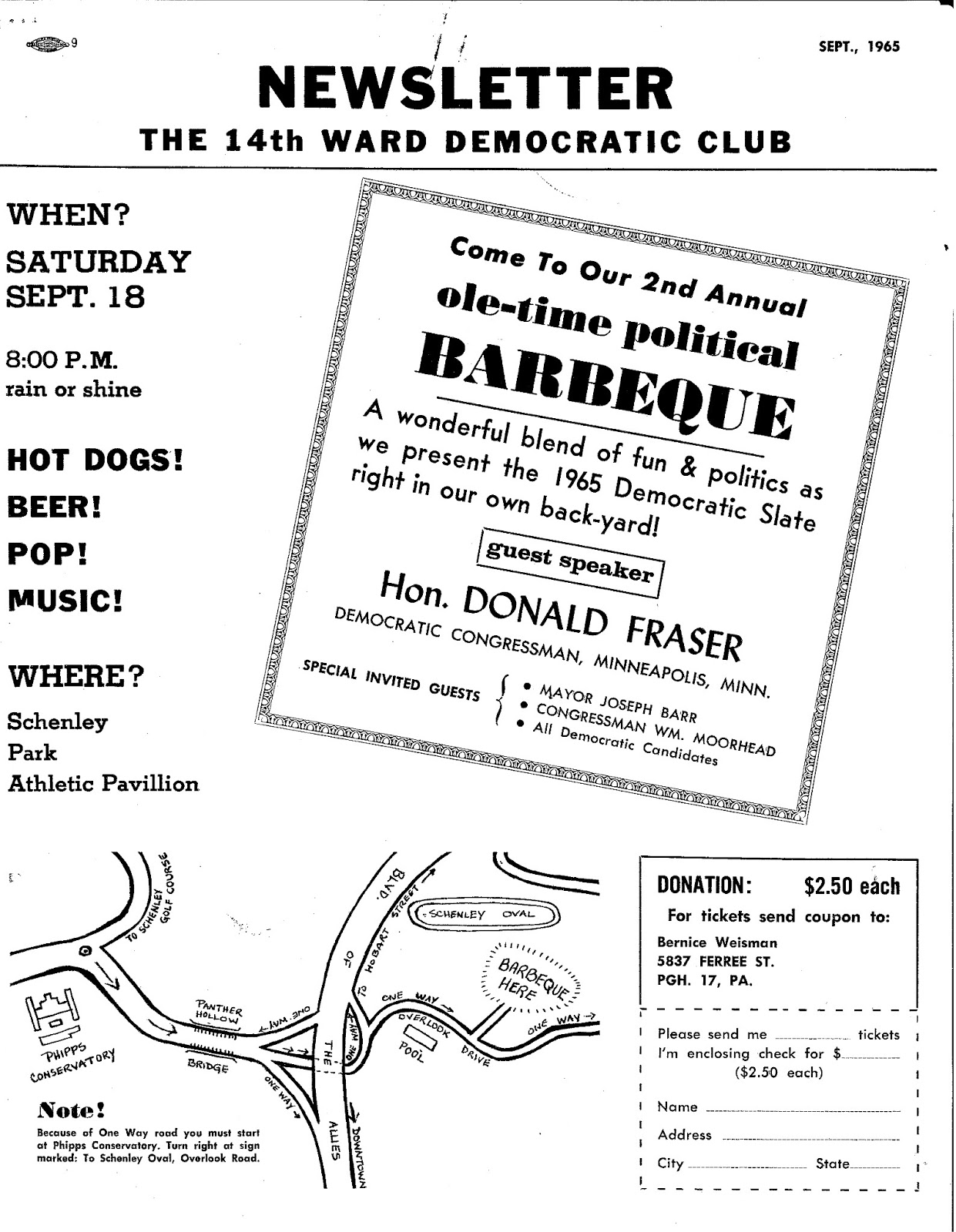 14th Ward Independent Democratic Club Archives: Barbeque