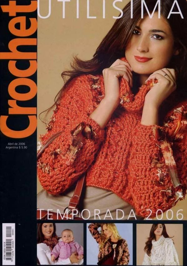 Crochê Utilíssima-Revista Crochê