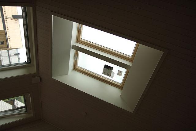 Diari di un architetto lucernari velux e regime for Finestre a soffitto