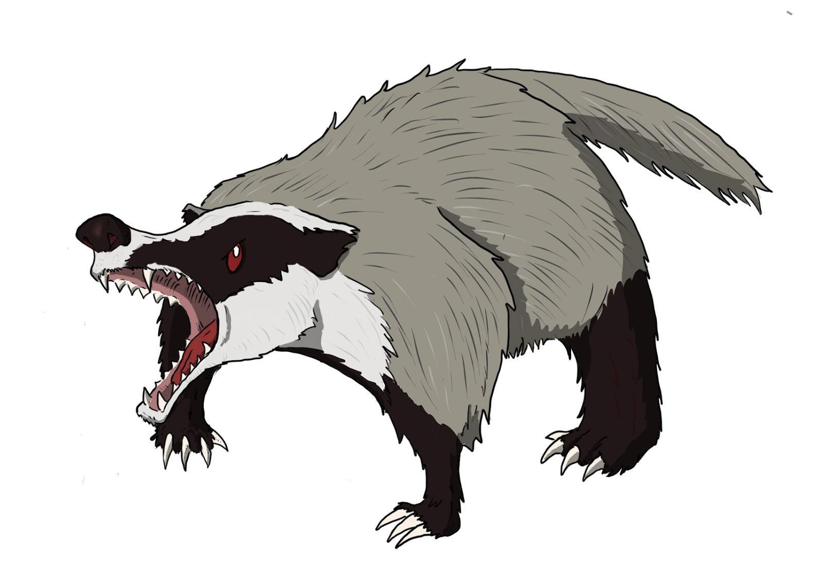 Dd Basic Monsters Giant Badger