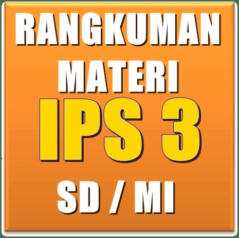Rangkuman Materi IPS SD Kelas 3 Semester 1 dan 2