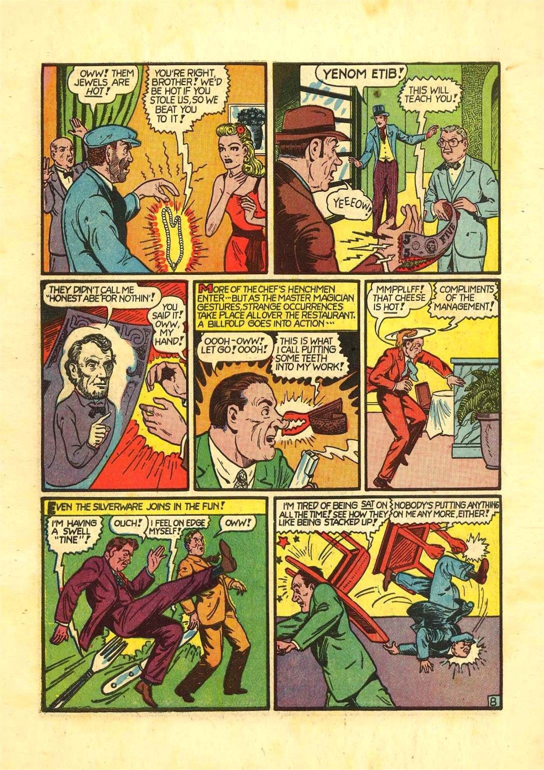 Read online Action Comics (1938) comic -  Issue #54 - 63
