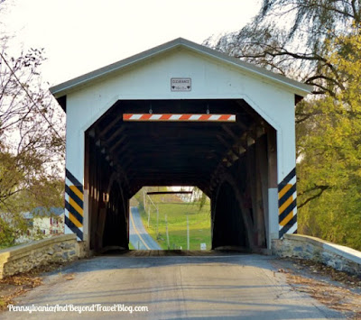 Leaman Place Covered Bridge in Lancaster County, Pennsylvania