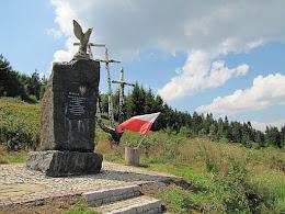 Pomnik partyzantów.