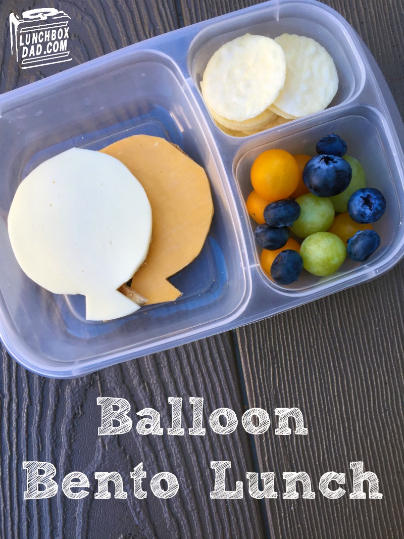 Lunchbox Dad: How to Make A Balloon Lunch For Your Kids + Fun Indoor ...