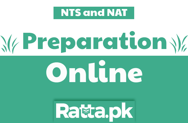 NTS and NAT Test Preparation 2018-19 online | Notes and Solved MCQs pdf