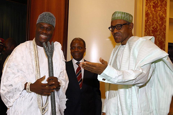 ooni of ife visits buhari