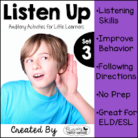 Listen Up Auditory Activities for the Primary Classroom