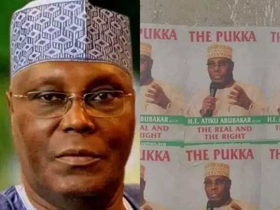 Atiku reacts to controversial campaign posters in Abuja