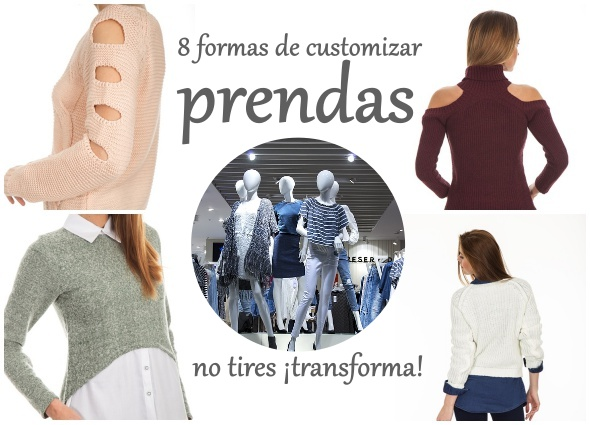 customizar, transformar, bricomoda, labores