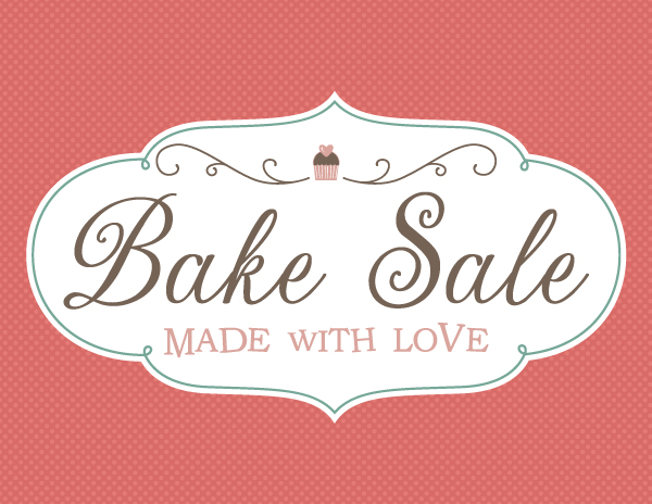 Printable Sign For Sale: Fontaholic: FREEBIE FRIDAY: Bake Sale Printables