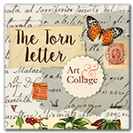 Visit My Collage Shop - The Torn Letter